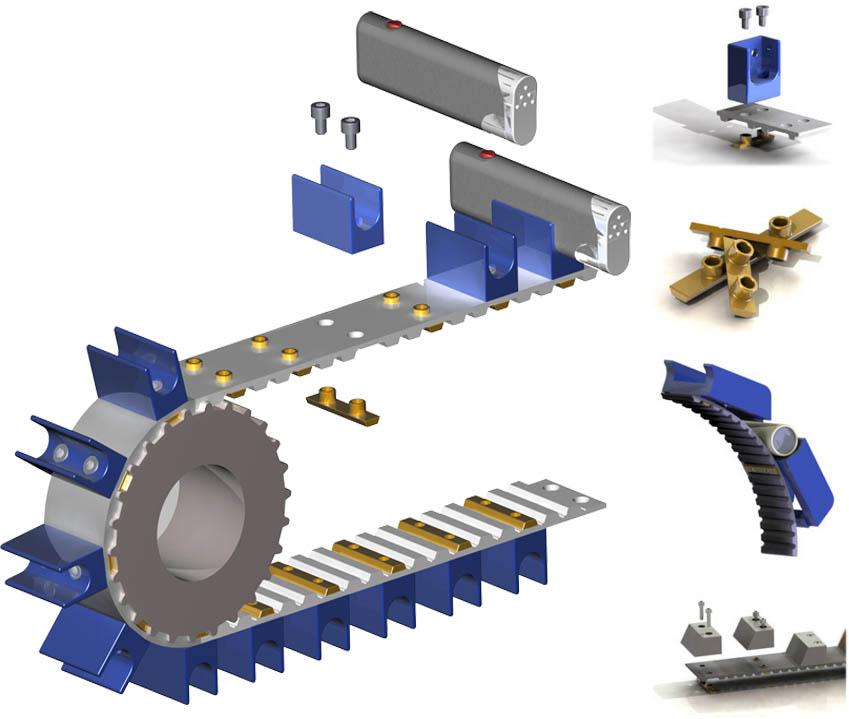 Mechanical cam fastener